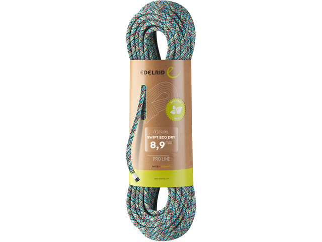 Edelrid Swift Eco Dry Rope 8,9mm x 60m, assorted colours